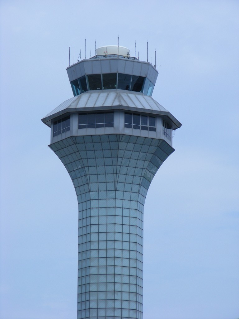Chicago O'hare's tower.  Photo by Benét J. Wilson