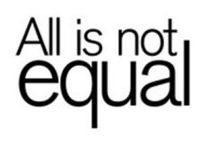 All not equal
