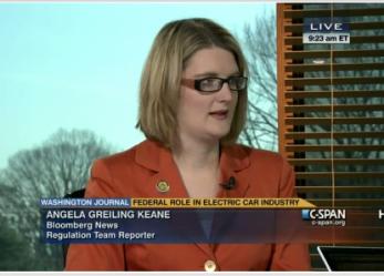 Bloomberg News' Angela Greiling Keane on auto beat
