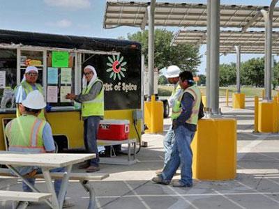 Food trucks Austin airport