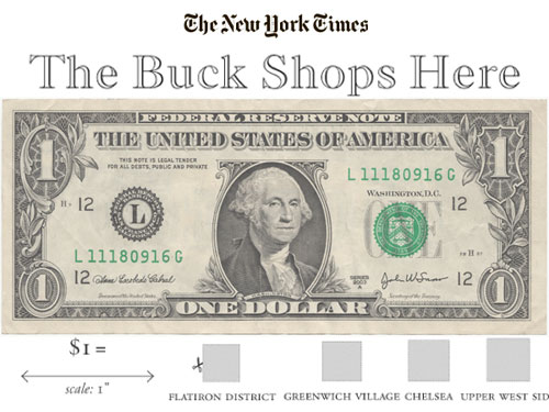 Buck Shops Here NYT real estate feature