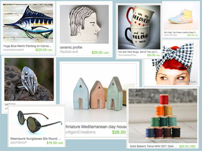 Etsy art images marketplace