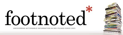 Footnoted logo