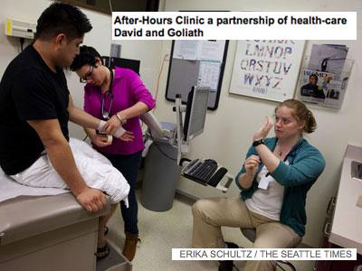 Helath Clinics Seattle Times