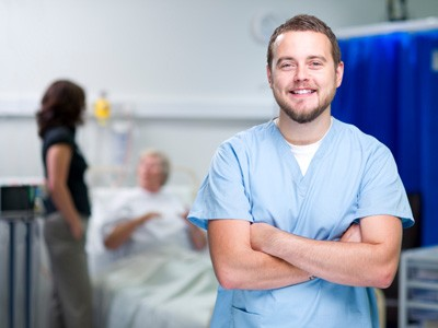 Smiling nurse Hospital business basics