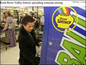 Illinois lottery ticket buyer