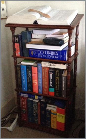 Jon Talton dictionary stand