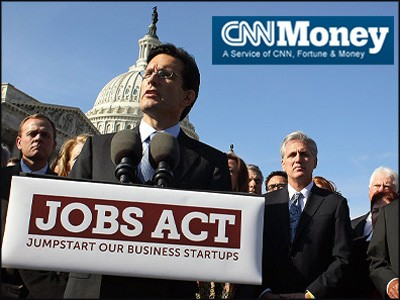 CNNMoney on JOBS act