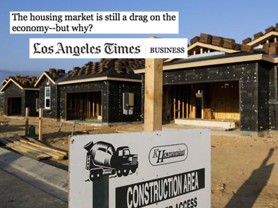 Los Angeles Times housing market story