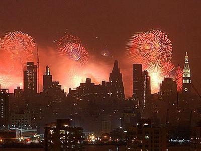 NYCity fireworks