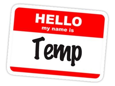 Hello, My Name is Temp