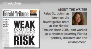 Paige St. John insurance investigations