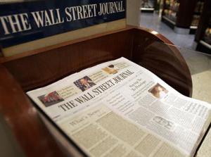 Wall Street Journal in box