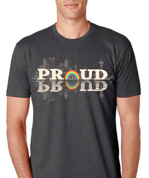 Seattle Pride 2014 Tshirt