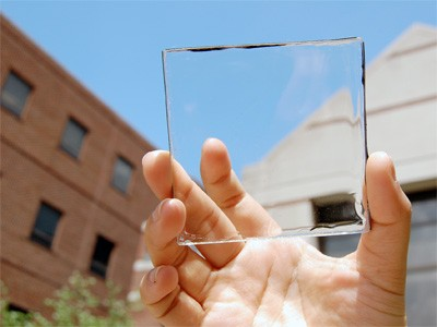 Clean solar power concentrator