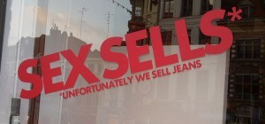 Sex Sells window