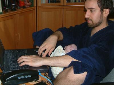Telecommuting Dad