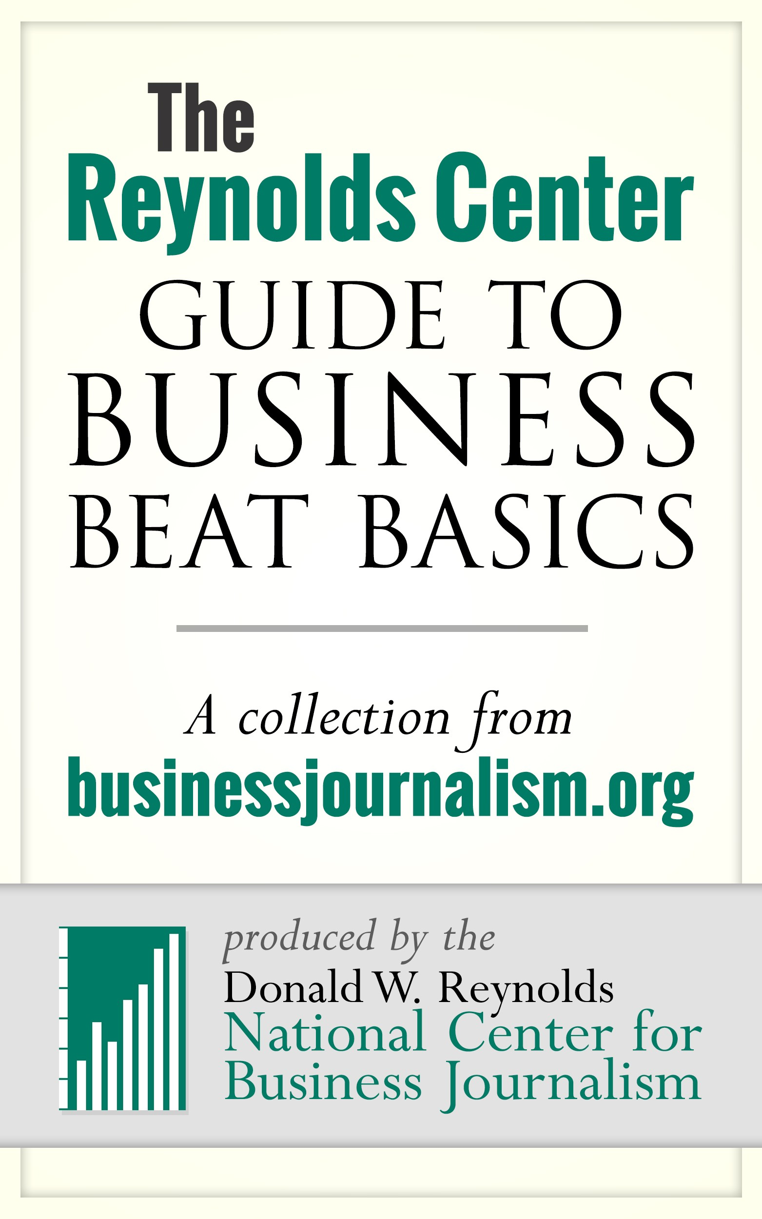 The Reynolds Center Guide to Business Beat Basics Ebook Cover