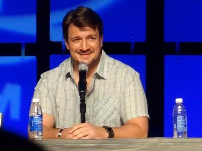 Nathan Fillion at Comic-Con 2014 Phoenix