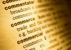 Dictionary commerce