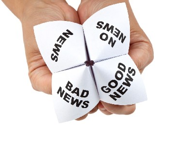 Good News Bad News paper game