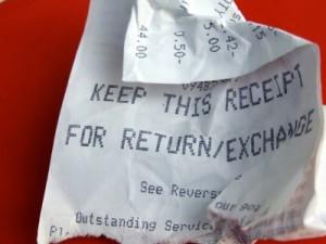 keep this receipt