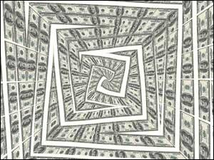 Money pit spiral
