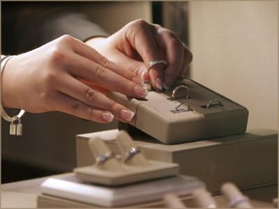 Ring shopping at Tiffanys