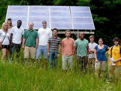 Solar energy in Vermont