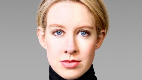 Elizabeth Holmes, photo courtesy of Forbes