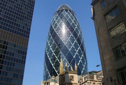 The Gherkin in London. (Via Lawrie Cate on Flickr.com)