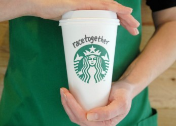 Starbucks Wants To Talk To Its Customers About Race