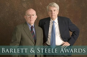 Barlett and Steele Awards logo