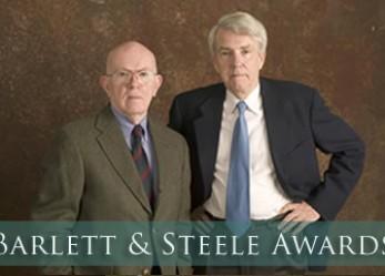 Reynolds Center Announces 2015 Barlett & Steele Award Winners
