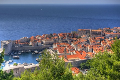 Dubrovnik's old town. (via Flickr.com user Michael Caven)