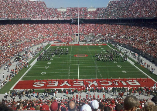 Ohio Stadium. (Via Flickr.com user Andrew Whitis)