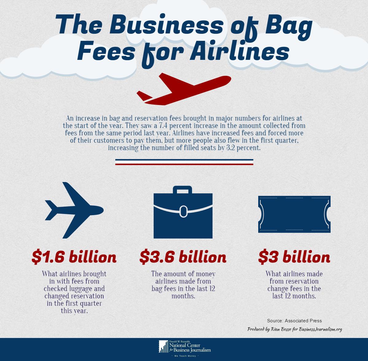 Visual Business- Bag Fees
