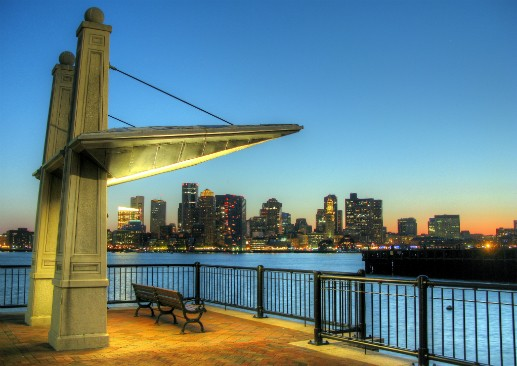 Boston skyline. (Via Flickr.com user Robert Lowe)