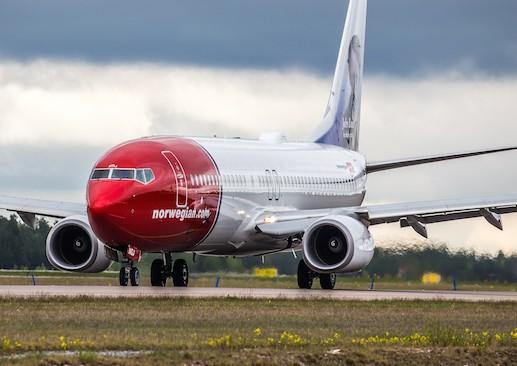 A Norwegian Air Boeing 737-800. Photo courtesy of Norwegian Air