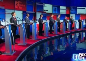 Politics And Money: Business Takes A Back Seat In First GOP Debate