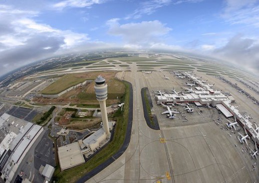 An aerial view of Hartsfield-Jackson International Airport. Photo courtesy of Hartsfield-Jackson.