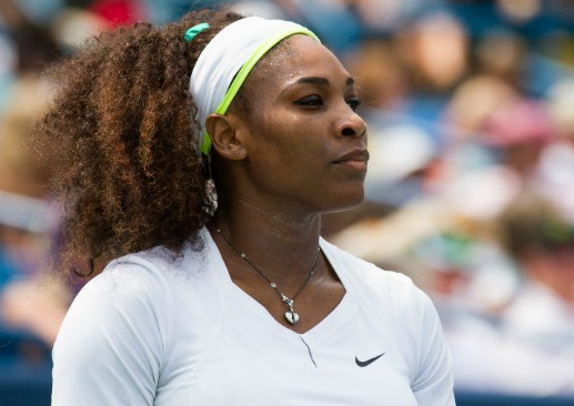 Serena Williams. (Via Flickr.com user Beth)