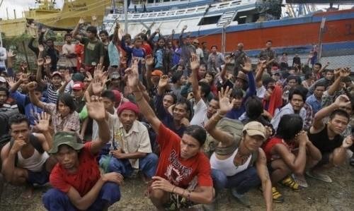 Myanmar Sea Slaves
