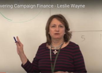 Workshop Recap: Covering Campaign Finance