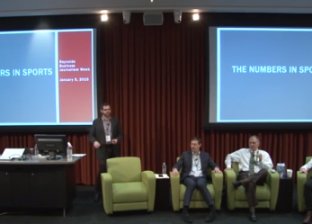 Workshop Recap: The Numbers in Sports
