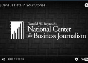 Workshop Recap: Using Census Data in Your Stories