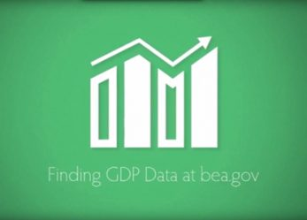 Finding GDP Data on The Bureau of Economic Analysis Website