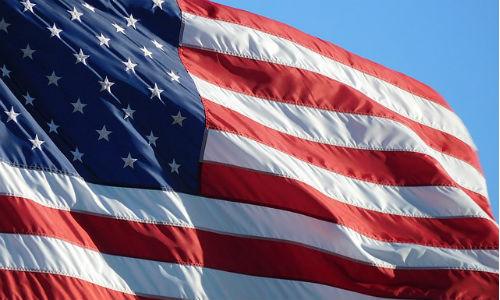 American Flag photo via Pixabay