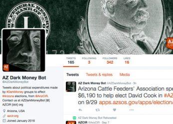 Follow the Money: Inside the Creation of the Arizona Dark Money Bot