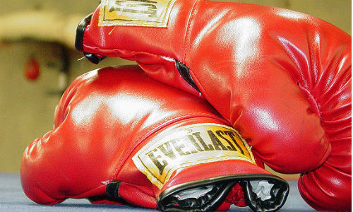 "Some of the country's most high-profile economists have battling views of the candidates' plans. (""Boxing Gloves"" image by Kristin Wall via flickr, CC BY-ND 2.0)"
